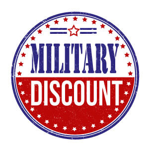 Millitary Discounts Pittsville, MD