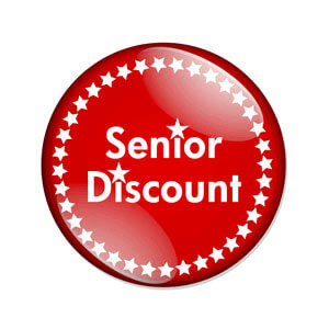 Senior Discounts Fruitland, MD